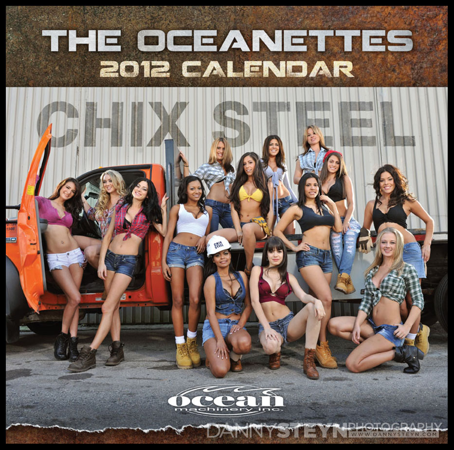 Calendar Photography - 2012 Oceanette Calendar