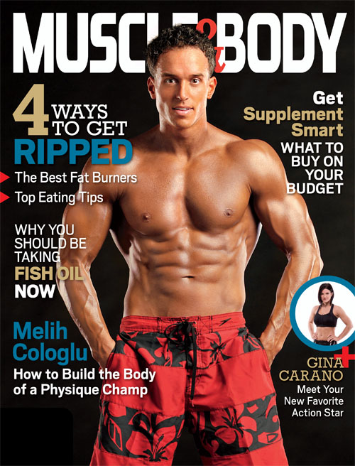 Muscle and Body Cover Photo - Danny Steyn Photography