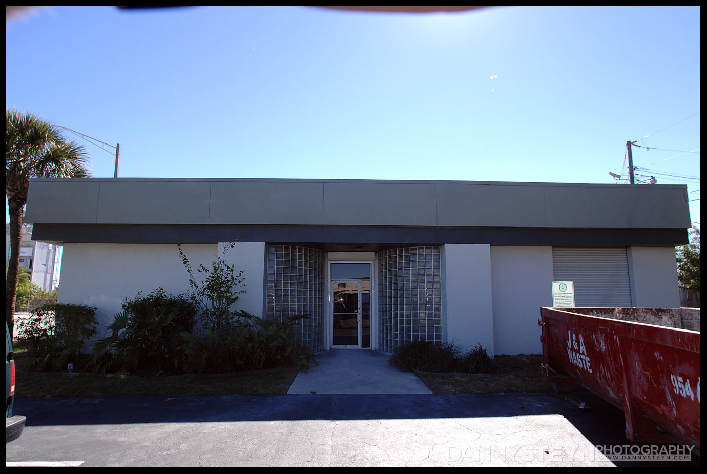 Danny Steyn Photography Studio - Exterior - North Entrance