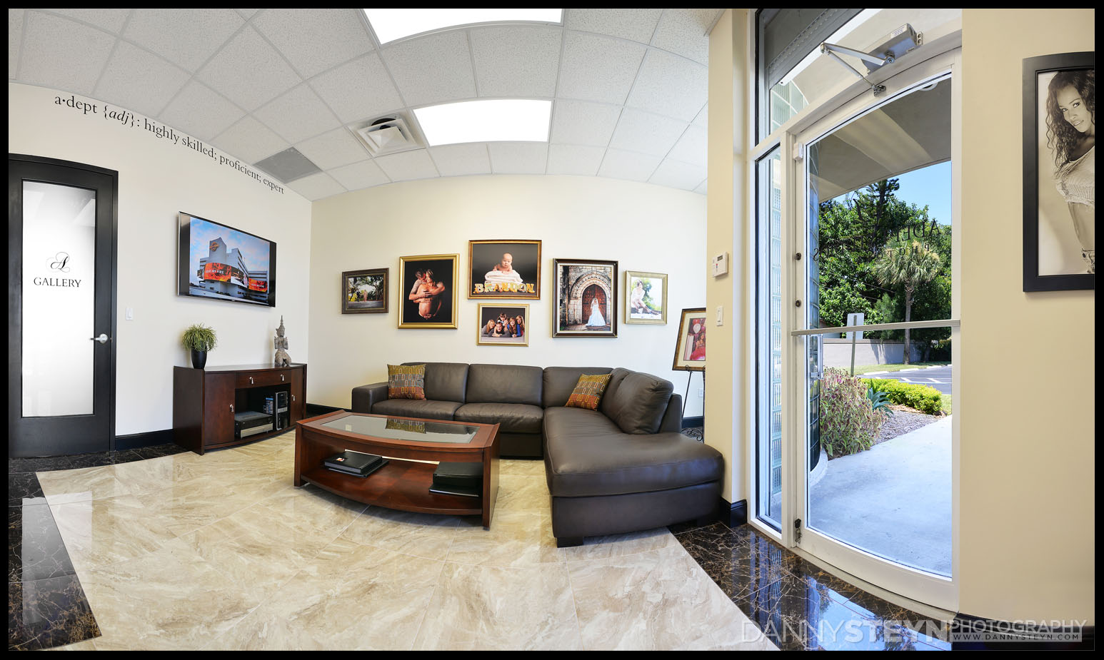 Danny Steyn Photography Studios - Front Lobby