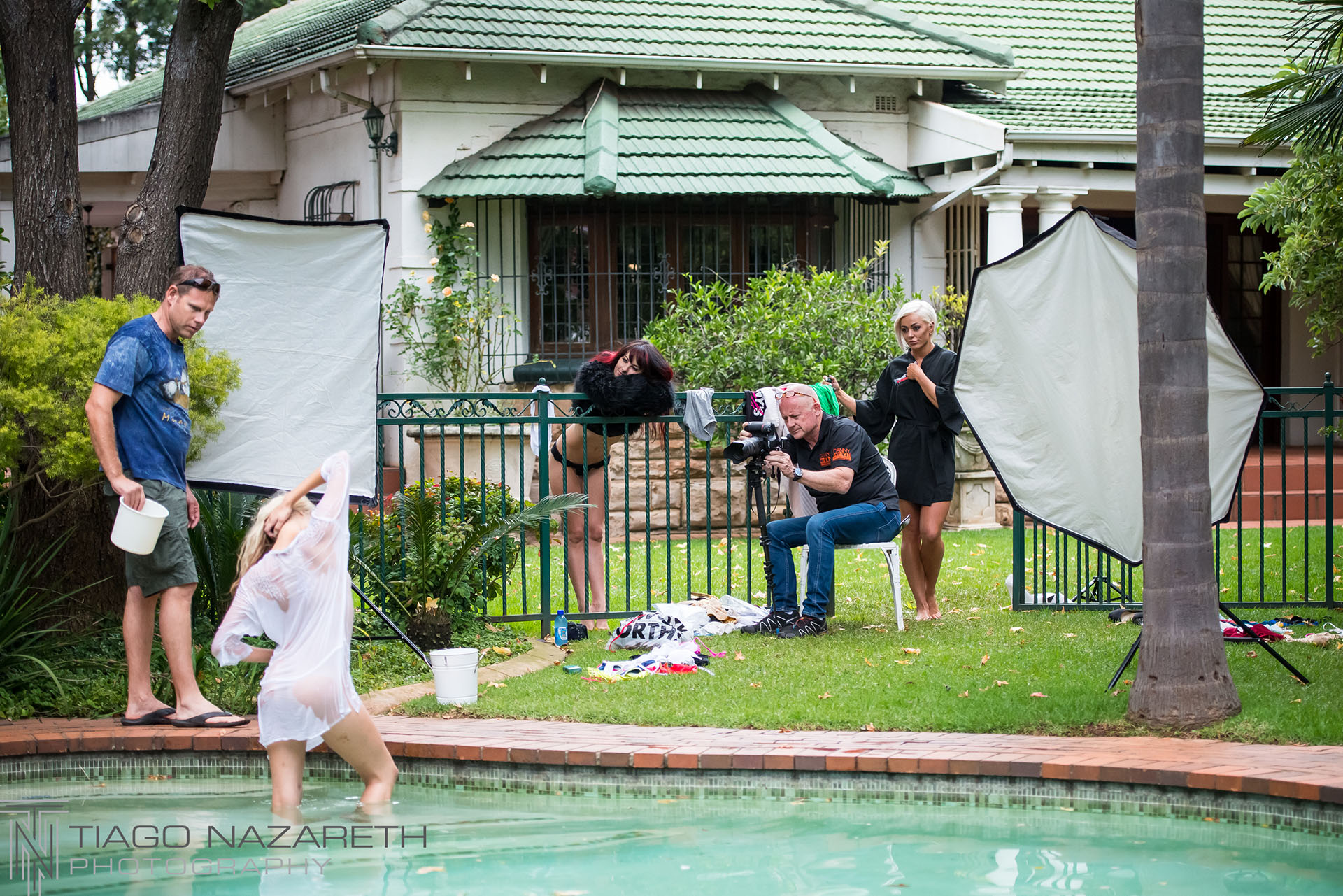 Danny's Angels Photo Shoot at Nazareth Studios, Westdene, Benoni - 25 March 2018